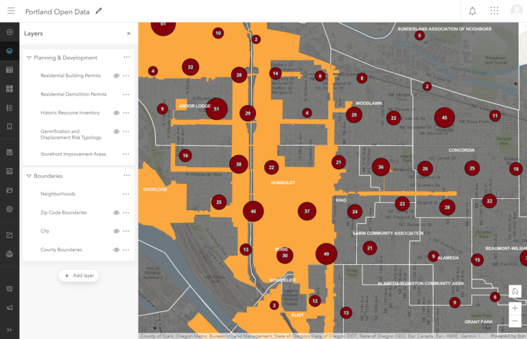 arcgis online group layers